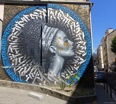 SNEK (BE'N 59. Street photographer) Tags: streetart grenoble snek calligraphy calligraphie