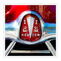 Hudson (Splitti68) Tags: auto car fahrzeug markensymbol quadrat square rot chrome hudson rahmen splitti splitti68 splittstoesser splittstöser