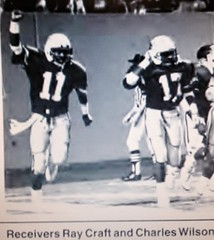 Ray Craft Charles Wilson Memphis St Football (Jbsbbailey) Tags: memphis state charlie bailey tigers football 1986 1987 1988 ray craft rick tricket liberty bowl darrell dickey florida alabama emmitt smith ole miss mississippi johnny majors tennessee