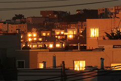 Windows at Sunset (photo101) Tags: reflection windows