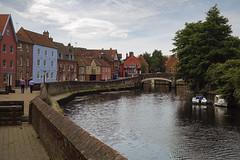 Quay Side [199/365 2017] (steven.kemp) Tags: river wensum norwich quay side ribs beef pub water bridge