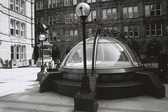 London (goodfella2459) Tags: nikon f4 af nikkor 24mm f28d lens kodak trix 400 35mm blackandwhite film analog london waterhouse square buildings architecture city bwfp milf