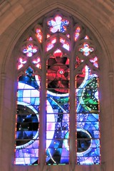 National Cathedral ~ The Space Window (karma (Karen)) Tags: washingtondc thenationalcathedral churches cathedrals stainedglasswindows thespacewindow moonrock