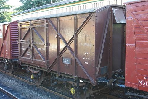 17-306  Ex-BR Four Wheeled Pallet Van No. B782114