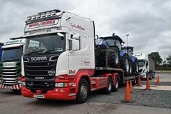 DSC_0001 (richellis1978) Tags: truck lorry hgv lgv cannock haulage transport logistics scania r irl irish r580 v8 ward burke 171g1428