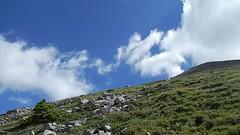Grotto MoGrotto Mountain Summit Scramble loop -  Clouds (benlarhome) Tags: canmore alberta canada grottomountain hike hiking scramble scrambling trek trekking mountain rockies rockymountain trail path