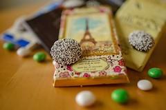 Unparalled (brev99) Tags: chocolate chocolatebars nonpareils mms shallowdof bokeh blur tamron35f18vc d610