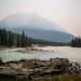 Mt. Kerkeslin in Smoke