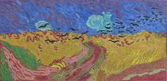 Champ de blé avec corbeaux - Auvers-sur-oise - Van Gogh - 1890_0 (Luc II) Tags: vangogh blé corbeaux auverssuroise