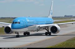 KLM (Royal Dutch Airlines) B789 PHBHC ($and$man) Tags: cyyc yyc calgary airplane aircraft boeing 787 dreamliner taxi airport klm royaldutchairlines phbhc