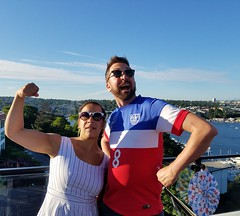 strongmen (*ambika*) Tags: fourthofjuly fourth independenceday seattle lakeunion celebrate party bbq barbecue 2017 fourthofjuly2017
