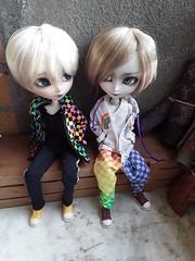 Keith & Jacob 2 (Lunalila1) Tags: doll isul vermelho jacob glen keith