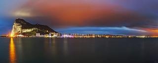 Gibraltar - Panorama Skyline