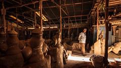 Break from Work - Bengaluru, India (Kartik Kumar S) Tags: bangalore karnataka india idol lights ganesha god festival warehouse
