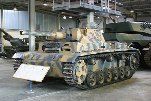 Panzerkampfwagen III / Flammpanzer / Ausf. M