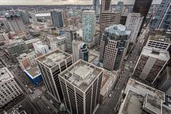 Vancouver BC - Exchange Tower (41) (doublevision_photography) Tags: vancouver vancouvercity vancouverrealestate vancouverbc vancouverskyline vancity vancouvercanada jasocrane constructioncrane vancouverconstruction roofing vancouverroofing contruction towercranephotography flyingtables tableflying