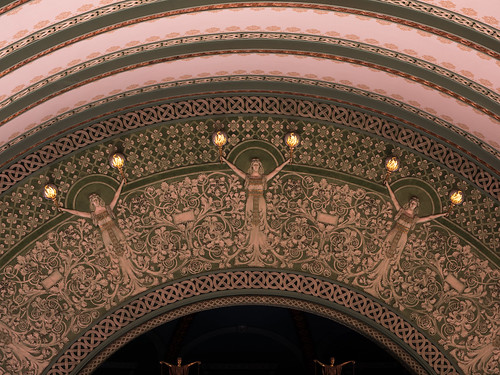 Architectural Detail inside Union Station St. Louis