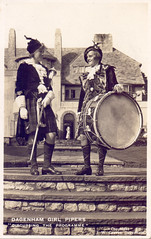 Dagenham Girl Pipers. (Paris-Roubaix) Tags: girl pipers dagenham pipes drums pipe major drum tartan kilts sporrans rev j w graves