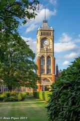 Clock Tower, Royal Masonic School, Bushey-2 (PapaPiper) Tags: england bushey hertfordshire clocktower masonic masonicschool light masonicseniorschool architecture royalmasonicschool