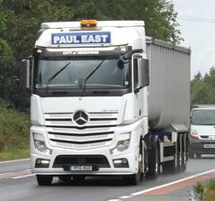 Paul East YP15 HGO (Joshhowells27) Tags: lorry truck mercedes mercedesbenz actros pauleast tipper hereford