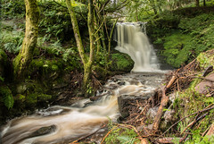 Blaen Y Glyn (1 of 1) (selvagedavid38) Tags: brecon beacons wales waterfall stream river movement neutral density water green aqua