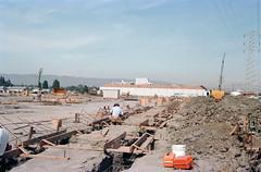 Raychem (menloparkplanning) Tags: 19830616 mp1980s menlopark california sanmateocounty raychem construction scannedphoto historicalphoto