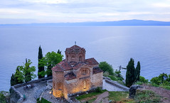 Happy Sunday ! / Church of St. John at Kaneo, Ohrid, Macedonia (Frans.Sellies) Tags: 20170603193638 ohrid macedonia охрид македонија македо́ния mazedonien macédoine makedonya church