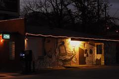 Austin - The Door is Open . . . (Drriss & Marrionn) Tags: austin austintx texas usa outdoor travel streetviews street streetscene streetlife urbanjungle citytrip eastsixthibizdistrict building buildings city vivid sky nightsky nightshot evening