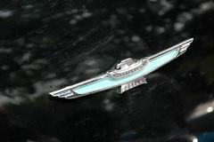 DSC_1880 (C&C52) Tags: extérieur carshow voiture ford vintage collector détail insigne oiseau