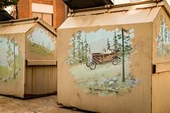 Opinion Pods (Corporate Traveler) Tags: lamesa texas urban dumpster trash publicart westtexas dawsoncounty