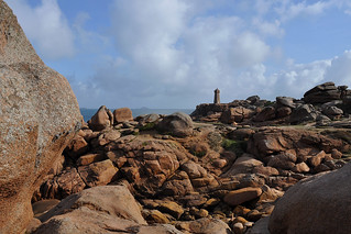 Perros-Guirec - Lighthouse on Granit Rose
