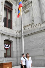 2017 Colombia Flag Raising-023 (Philly_CityRep) Tags: cityofphiladelphia colombia flag raising