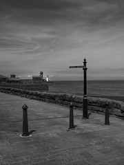 Whitehaven isn't short of lighthouses .... (Barbara Fallas) Tags: cumbrian coast