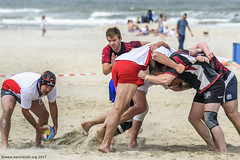 H6G64140 Ameland Invites v Baba Bandits (KevinScott.Org) Tags: kevinscottorg kevinscott rugby rc rfc beachrugby ameland abrf17 2017 vets veterans netherlands
