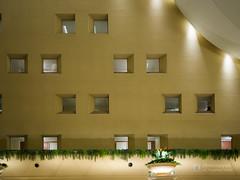 Large stair well of Kobe Meriken Park Oriental Hotel (神戸メリケンパークオリエンタルホテル) (christinayan01) Tags: hotel architecture building night indoor lobby space kobe japan interior