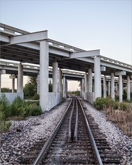Beyond the Bend (A Anderson Photography, over 1.8 million views) Tags: railroad tracks railroadtracks canon abutment pillars