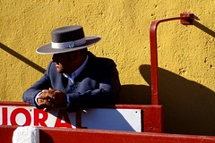 majoral (aficion2012) Tags: ceret france francia toros toreaux corrida tauromaquia tauromachie bull fight toro escolar gil majoral traje campero catalogne catalunya