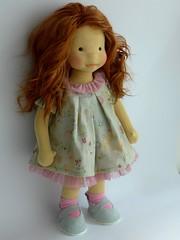 waldorf doll (Dearlittledoll) Tags: waldorf waldorfdoll steinerdoll dearlittledoll fiberart dollmaker naturalfiberdoll naturalkids naturaldoll handmadedoll organicdoll slowdoll