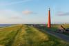 Den Helder (Netherland) (Guy Goetzinger) Tags: architektur leuchtturm huisduinen noordholland niederlande nl seaside holland denhelder lighthouse goetzinger nikon d800 red green sky sunset tourism nature coast nordsee sunny paysage scenery szene photo dutch europe scene outdoor