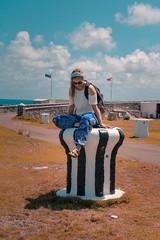 Royal Naval Dockyard, Bermuda (audsthetics) Tags: bermuda royal naval dockyard travel adventure elephantpants birkenstocks bandana nature bermudaful historical portrait portraitphotography