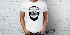 beard-WHITE-T-SHIRT (chiragsavaliya) Tags: active apparel back background blank body boy casual cloth clothes clothing cotton design dress fashion front guy jeans male man outfit posing shirt shop short size store tshirt teenager template textile top wear white young