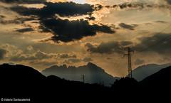 the power of nature (Valeria Santacaterina) Tags: sunset tramonto mountains sky colors light landscape paesaggio tramonti luce pasubio montepasubio