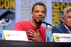 Jacob Anderson (Gage Skidmore) Tags: jacob anderson raleigh ritchie game thrones hbo san diego comic con international 2017 convention center california