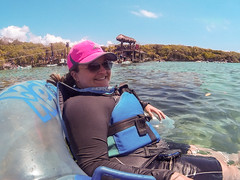 Going with the Flow (Jerry Bowley) Tags: rivieramaya xelha float ecopark lisa river allinclusive