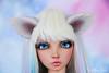 Commissioned wolf ears ans tail for MSD (AnnaZu) Tags: wolf ears tail bjd parts commission doll balljointed sia fairyline magnetic etsy annaky annazu vesnushkahandmade