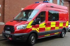 EX16 LZR (Ben - NorthEast Photographer) Tags: tyne wear fire rescue service new swift water van