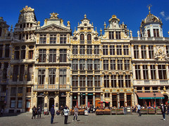 Grote Markt ~ Grand Place, Brussels, Belgium (Sally E J Hunter) Tags: brussels bruxelles belgium belgique belgië belgien grotemarkt grandplace guildhall