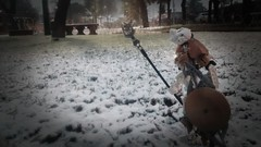 Snow!!!! (vicent steffens (gerou 100)) Tags: bionicle snow toa kopaka ice chile w 2017 master