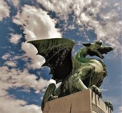 City of Dragons (sabinakurt62) Tags: ljubljana slovenia slovenija europa beautiful travel art metelkova thedragonbridge ljubljanicariver presernsquare triplebridge ljubljanacastle musicartcenter buchersbridge nikon sabinakurt photography