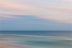 North Sea blues...... (Brigitte Lorenz) Tags: abstract icm nature seascape northsea evening colors